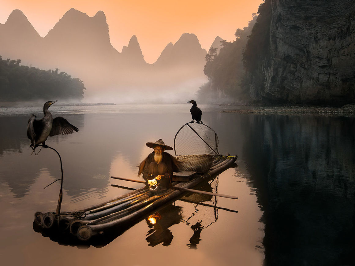 Old Fisherman von Daniel Metz